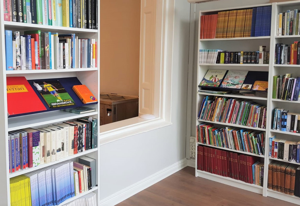 Bibliotek Elafskolan